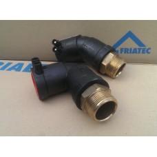Отвод электросварной с резьбой (наружней, внутренней)