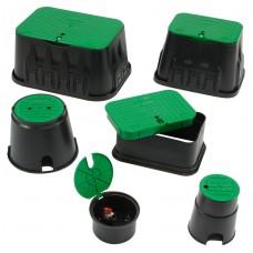Клапанный бокс (короб) для систем полива