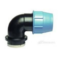 Отвод трубы компрессионный с внутренней резьбой