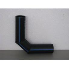 Отвод ПНД (от 50 до 90 градусов) сегментный