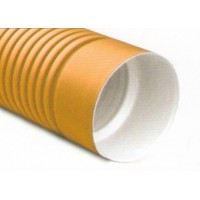 Труба doulbe plast sn8 ПНД двухслойная