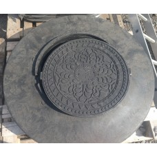 Черные ПНД Люки для гофрированных шахтных труб 801