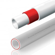 Трубы полипропиленовые (ПП) 20 мм, армированные стекловолокном
